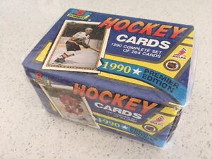 1990 Bowman Hockey Complete Factory Set Sealed!