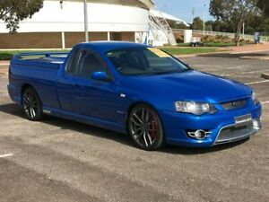 2006 Ford Performance Vehicles Super Pursuit BF Blue 6 Speed Sports Automatic Utility Gepps Cross Port Adelaide Area Preview