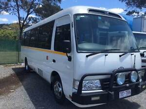 2013 TOYOTA COASTER 21 SEAT DIESEL BUS (13,000KMS LIKE NEW) Rochedale South Brisbane South East Preview