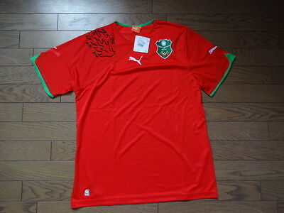 Malawi 100% Original Soccer Jersey Shirt L BNWT 2010 Home Extremely Rare image