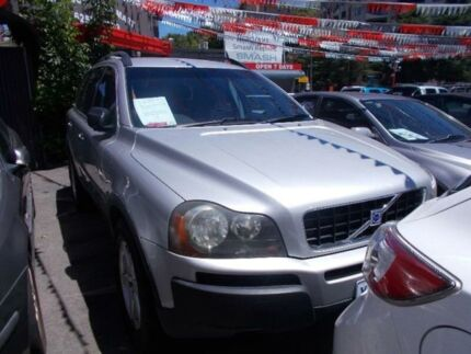 2004 Volvo XC90 2.5T Silver 5 Speed Auto Geartronic Wagon