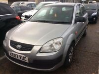 2007 KIA RIO 1.4 PETROL MANUAL 5 DOOR HATCHBACK GOOD DRIVE CAR 10 MONTHS MOT CHEAP NOT ASTRA FOCUS
