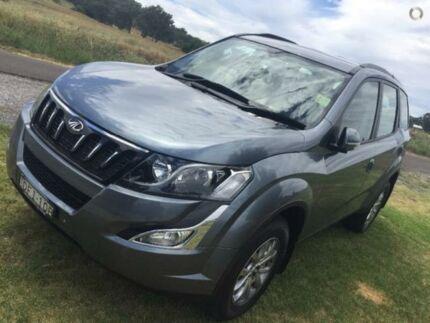 2016 Mahindra XUV500 MY16 W8 AWD Mara Overcast Grey 6 Speed Sports Automatic Wagon