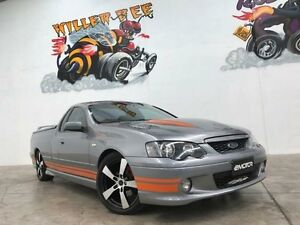 2003 Ford Falcon BA XR8 Grey 5 Speed Manual Utility Williamstown North Hobsons Bay Area Preview