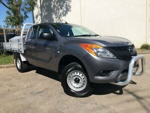 2013 Mazda BT-50 UP0YF1 XT Hi-Rider Cab Chassis Freestyle 4dr Man 6sp 4x2 143 Grey Manual Oxley Park Penrith Area Preview