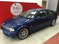 BMW 3 Series 1.9 SE (blue) 2001