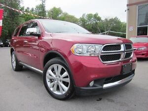 2013 Dodge Durango CREW PLUS, NAV, DVD, LEATHER, 35K!