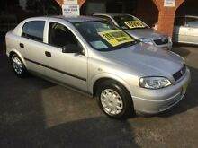 2004 Holden Astra TS MY03 CD Silver 4 Speed Automatic Hatchback Lidcombe Auburn Area Preview