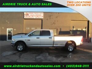 2012 Ram 2500 SLT Crew Cab 8 Foot Long Box !!