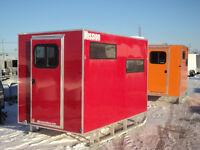 ICE SHACK - finishing cabins