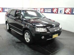 2005 Ford Territory SX Ghia (4x4) Black 4 Speed Auto Seq Sportshift Wagon Cardiff Lake Macquarie Area Preview