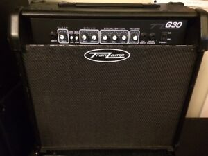 Korean made TZ G30 solid state guitar amp