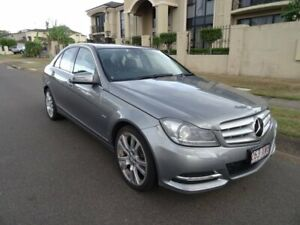 2011 Mercedes-Benz C200 W204 MY11 CDI Avantgarde BE Silver 7 Speed Automatic G-Tronic Sedan Sunnybank Hills Brisbane South West Preview