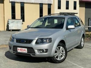 2011 Ford Territory SY TS Limited Edition Silver 4 Speed Automatic Wagon Burleigh Heads Gold Coast South Preview