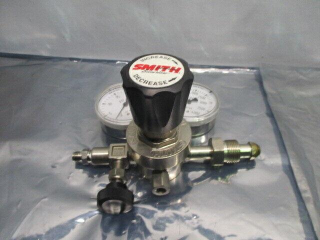 Smith Silverline Gas Cylinder, Regulator, Pressure Gauge, 101450
