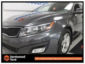 2015 Kia Optima LX GDI with power heated seats. We know you'd lo