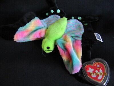 TY BEANIE BABY FLOAT - BUTTERFLY - MINT - RETIRED Butterfly Beanie Baby
