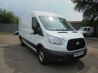 Ford Transit 2.2 Tdci 125Ps H2 Van DIESEL MANUAL WHITE (2016)