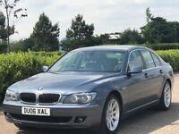 BMW 7 SERIES 4.8 750I 4d AUTO 363 BHP (blue) 2006