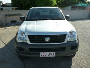 2005 Holden Rodeo RA MY05 LX Space Cab Silver Manual Utility Rosslea Townsville City Preview