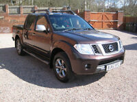 2012 Nissan Navara 2.5dCi (EU V) auto Platinum 4WD Double Cab Pick Up Bronze