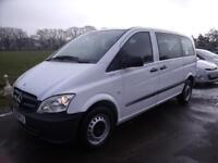 MERCEDES VITO 113 CDI TRAVELINER - 9 SEATS - White Auto Diesel, 2012