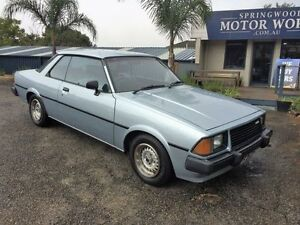 1980 Mazda 626 Super Deluxe Blue 5 Speed Manual Coupe Springwood Blue Mountains Preview