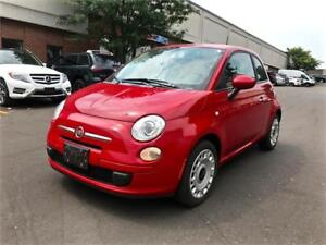 2012 FIAT 500 Pop, 5 SPEED MANUAL, NO ACCIDENT