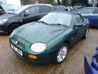 MG MGF - Y817JPP - DIRECT FROM INS CO