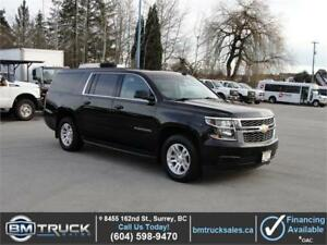 2016 CHEVROLET SUBURBAN LT LEATHER NAVIGATION 4X4 SUNROOF 8 PASS