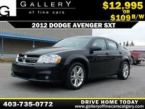 2012 Dodge Avenger SXT $109 BI-WEEKLY APPLY NOW DRIVE N