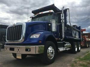 2017 International HX620 Dump Truck