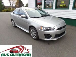 2016 Mitsubishi Lancer ES for $127 bi-weekly all in!(HUGE WRTY!)
