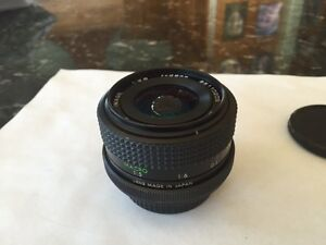 Japanese made 3rd Party 28mm f2.8 manual focus lens for Nikon