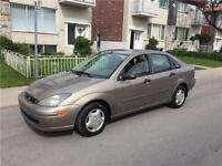 2003 FORD FOCUS. AUTOMATIC. 126 000km. TRES PROPRE. 2000$