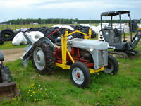 Ford 8N, Loader, Snow Blower
