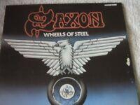 Vinyl LP Saxon – Wheels Of Steel