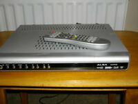 ALBA ALDTR160 HDD Freeview recorder