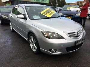 2004 Mazda 3 BK1031 SP23 Silver 4 Speed Automatic Hatchback Lidcombe Auburn Area Preview