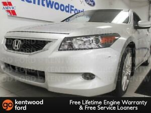 2009 Honda Accord Cpe EXL V6 coupe with it all. NAV, sunroof, he