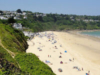 Carbis Bay St Ives - Holiday Let - 1 bed apartment 5 mins walk to fabulous beach
