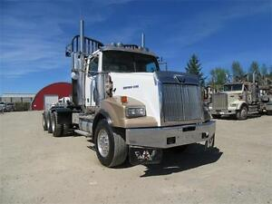 James Western Star - 2005 White w/Gold Fenders