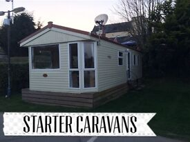 Static caravans pay monthly