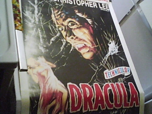 Dracula (Horror Of Dracula) Reproduction Movie Poster,Christopher Lee,Rolled