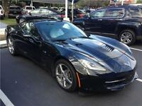 2014 Chevrolet Corvette Stingray black coupe 3LT