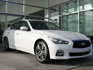 2015 Infiniti Q50 AWD/HEATED FRONT SEATS/HEATED STEERING WHEEL/N Edmonton Edmonton Area image 1
