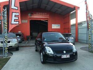 2010 Suzuki Swift RS415 GLX Black 4 Speed Automatic Hatchback Clontarf Redcliffe Area Preview