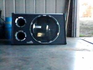 Nakamichi sub woof amp and Bibespace 12'' sub woofer speaker Campbell Town Northern Midlands Preview