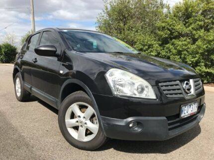 2008 Nissan Dualis J10 ST X-tronic AWD Black 6 Speed Constant Variable Hatchback Hoppers Crossing Wyndham Area Preview