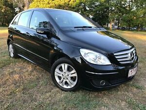 2007 Mercedes-Benz B200 W245 Turbo Black 7 Speed Constant Variable Hatchback Herston Brisbane North East Preview